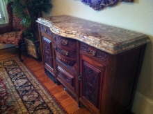 Typhoon Bordeaux Granite Top